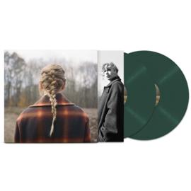 Taylor Swift Evermore 2LP - Green Vinyl-