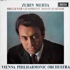 Zubin Mehta Bruckner Symphony No. 9 in D minor 180g LP