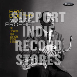 Eric Dolphy Musical Prophet: The Expanded N.Y. Studio Sessions (1962-1963) 3LP