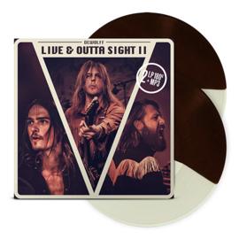 Dewolf Live & Outta of Sight II 2LP -Brown Cream Vinyl-