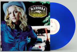 Madonna Music LP - Blue Vinyl-