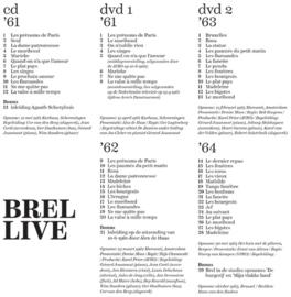 Brel In Nederland Boek + CD + DVD + LP