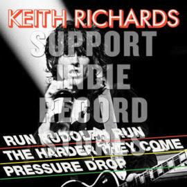 KEITH RICHARDS Run Rudolph Run (40th Anniversary) LP