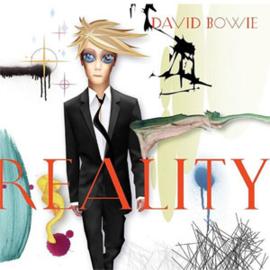 David Bowie Reality 180g LP (Translucent Gold & Blue Swirl Vinyl)