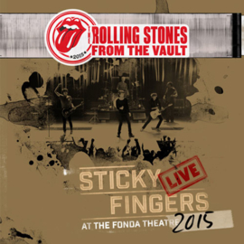 The Rolling Stones From the Vault: Sticky Fingers Live at The Fonda Theatre 2015 3LP & DVD