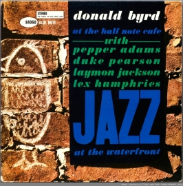 Donald Byrd At The Half Note Café, Vol. 1 LP - Blue Note 75 Years-