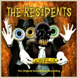 The Residents Icky Flix LP 2LP - Orange Yellow Vinyl-