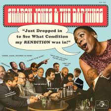 Sharon Jones & the Dap-Kings Just Dropped In (to see what condition my rendition was in) LP - Blue Vinyl