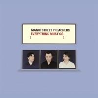 Manic Street Preachers - Everything Must Go LP Blue Vinyl-