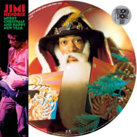 Jimi Hendrix Merry Christmas And Happy New Year (12″ Picture Disc)