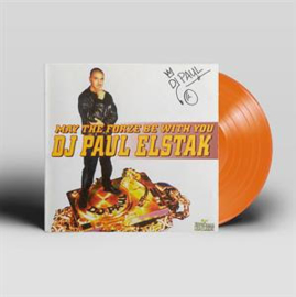 Dj Paul Elstak May The Forze Be With You LP - Solid Orange Vinyl-