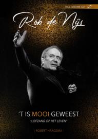 Rob De Nijs 'T Is Mooi Geweest Boek + CD