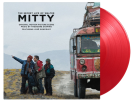 The Secret Life Of Walter Mitty 2LP - Red Vinyl-