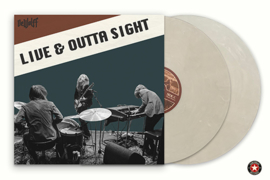 Dewolf Live & Outta of Sight I 2LP  Clear White Vinyl-