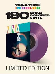 Nina Simone Simone At Town Hall LP - Purple Vinyl-
