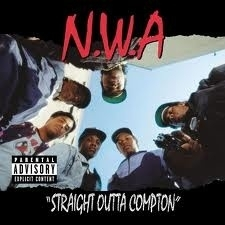 N.W.A - Striaght Out Of Compton LP.
