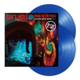 Gov't Mule Bring On The Music Vol.2 2LP - Blue Vinyl