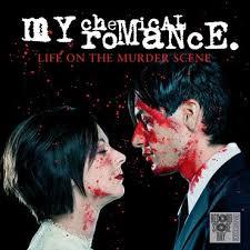My Chemical Romance Life On The Murder Scene LP - White Red Vinyl-