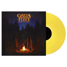 GRETA VAN FLEET From the Fires LP - Yellow Vinyl-