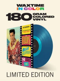 Elvis Presley Blue Hawaii LP - Blue Vinyl-