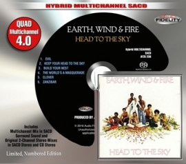 Earth, Wind & Fire Head To the Sky Numbered Limited Edition Hybrid Multi-Channel & Stereo SACD
