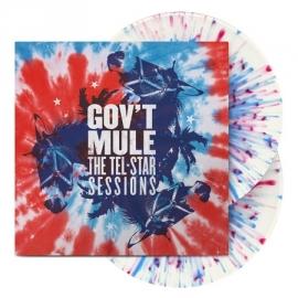 Gov't Mule The Tel Star Sessions 2LP - Splatter Vinyl-