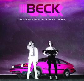 "BECK ""No Distraction / Uneventful Days (Remixes)"""