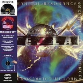Tesla Mechanical Resonance LP -Clear Blue Vinyl-