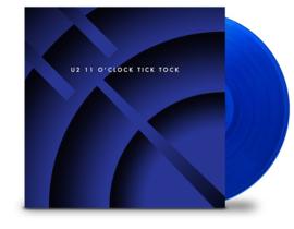 U2 11 O'Clock Tick Tock LP - Blue Vinyl-