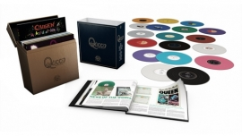 Queen Complete Studio Recordings 18LP Box Set - Coloured Vinyl-