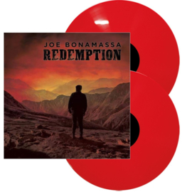Joe Bonamassa Redemption 180g 2LP - Red Vinyl-