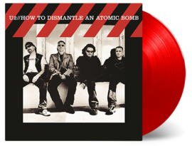 U2 How To Dismantle An Atomic Bomb LP- Red Vinyl