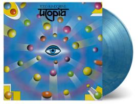 Todd Rundgren Utopia LP - Blue Marbled Vinyl -