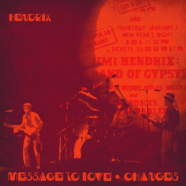 """JIMI HENDRIX """"Message To Love (Live)"""" / """"Changes (Live)"""" 12"""