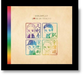 Coldplay Love In Tokyo CD