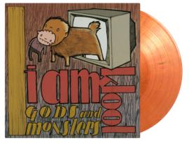 I Am Kloot Gods And Monsters LP - Orange Vinyl-