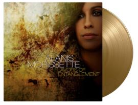 Alanis Morissette Flavors of Entanglement LP - Gold Vinyl-