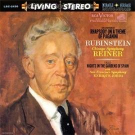 Rachmaninoff & Falla Rhapsody on a Theme of Paganini & Nights in the Gardens of Spain 200g LP