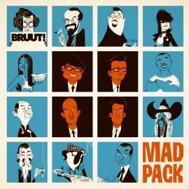 Mad Pack - Bruut! LP + CD