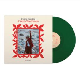 Curtis Harding If Words Were Flowers LP - Green Vinyl-