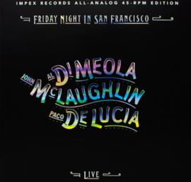 Di Meola / John Laughlin / Paco De Lucia - Friday In San Fransisco HQ 45rpm 2LP