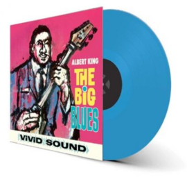 Albert King The Big Blues LP - Blue Vinyl-