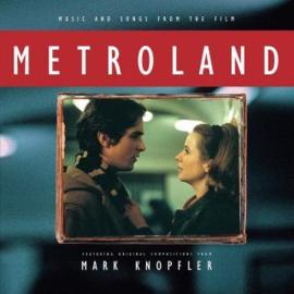 Mark Knopfler Metroland LP - Blue Vinyl-