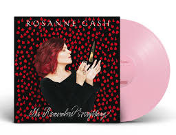 Rosanne Cash She Remembers Everything 180g LP -Pink Vinyl-