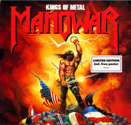 Manowar Kings Of Metal 2LP