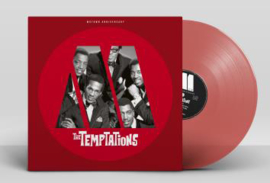 Temptations Motown Anniversary LP - Red Vinyl-