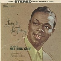 Nat King Cole  Love Is The Thing 45rpm 2LP
