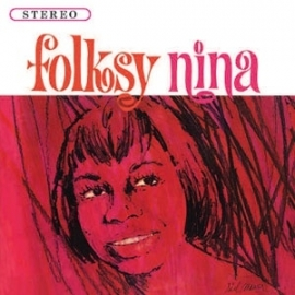 Nina Simone Folksy Nina LP.