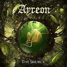 Ayreon The Source LP - Transparant Yellow Vinyl-