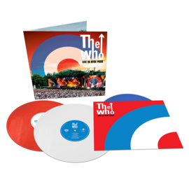The Who Live In Hyde Park 3LP (Red, White & Blue Vinyl)
